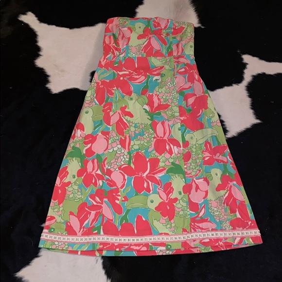Lilly Pulitzer Dresses & Skirts - Lilly Pulitzer Birdie Franco dress 8 EUC